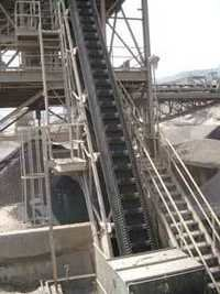 Steep Angle Belt Conveyor