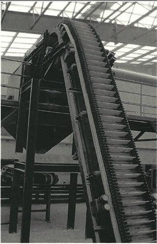 Cleated Angle Belt Conveyor