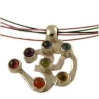 Gemstone Chakra Pendant