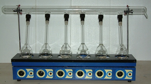 Kjeldahl Digestion Unit