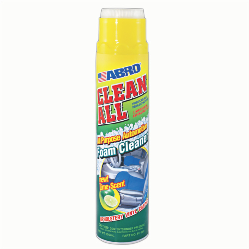 Clean All Foam Cleaner Lime Scent
