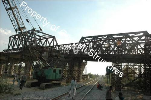 Steel Girder Bridge Fabrication