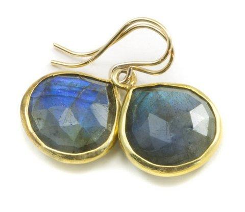 Labradorite Gemstone Earring