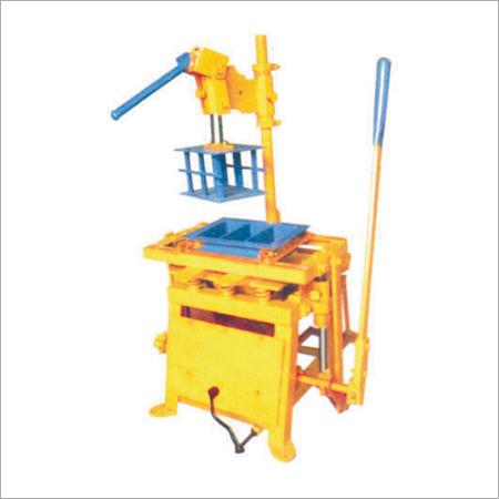 Hand Operate Concrete Block Making Machine