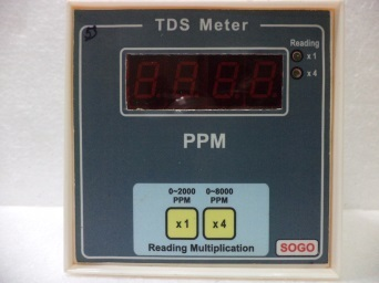 TDS meter ( Two Ranges )