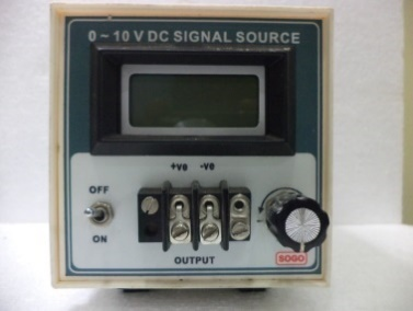 0 to 10 V DC Single source