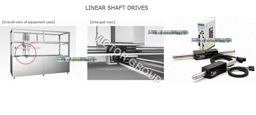 Linear Shaft Drive for Food container inspection equipment
