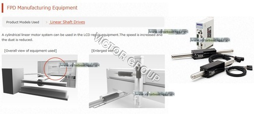 Linear Shaft Drive for fpd equipents