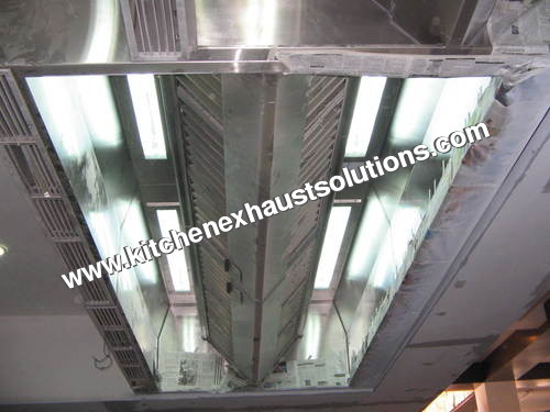 Industrial Kitchen Exhaust Hood