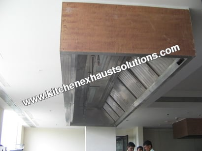 Kitchen Exhaust System And Fresh Air System