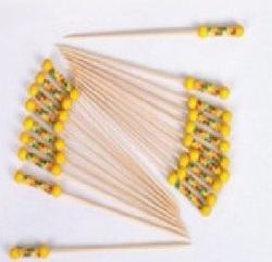 Yellow Bamboo Stick