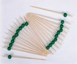 Bamboo Bead Green