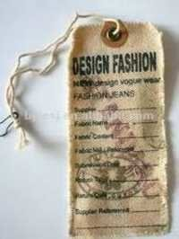 Fabric Hang Tags
