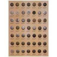 Decorative Metal Button