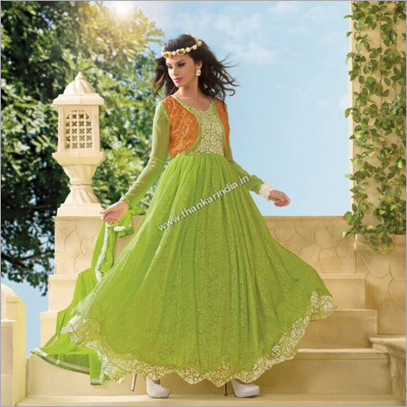 Long Anarkali Salwar Kameez