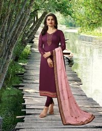 Straight Salwar Suits