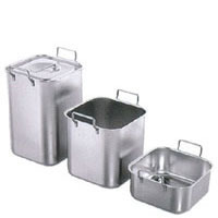 Bain-Marie Pan, Heavy, Stackable, SS