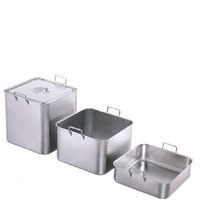 Bain-marie Pan, Heavy, Stackable, S/s