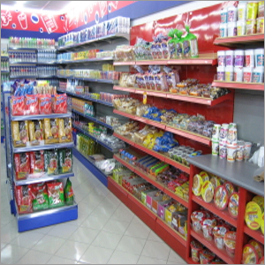 Supermarket Display Shelves