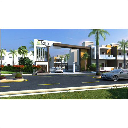 Gate View Duplex House