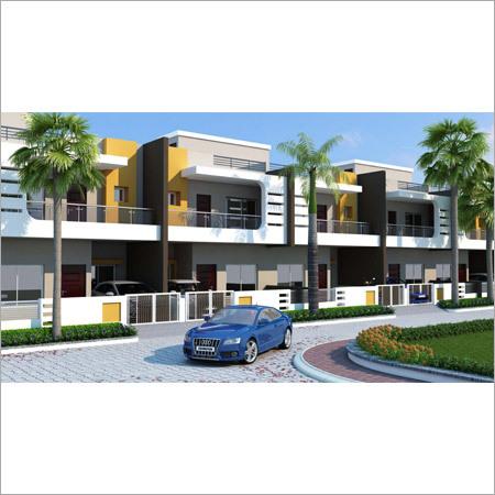 A type Duplex House