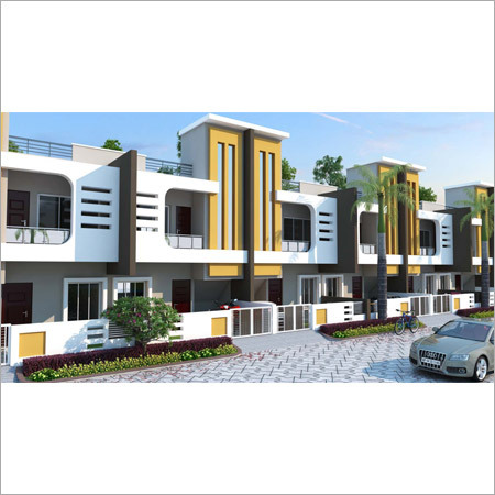 C type Duplex House
