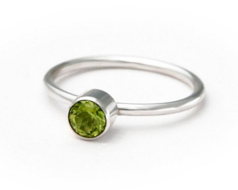 Peridot Gemstone Ring