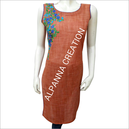 Traditional Embroidery Kurtis