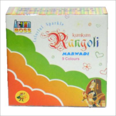 Kumkum Rangoli Color Box