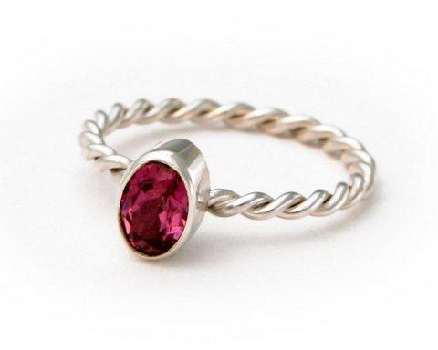 Garnet Gemstone Ring