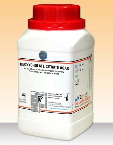 DEOXYCHOLATE CITRATE AGAR