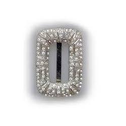 Brass Diamond Belt Buckle