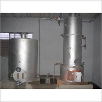 CASHEW NUT STEAM BOILER WITH COOKER