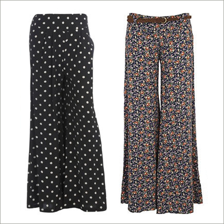 Printed Palazzos Pants
