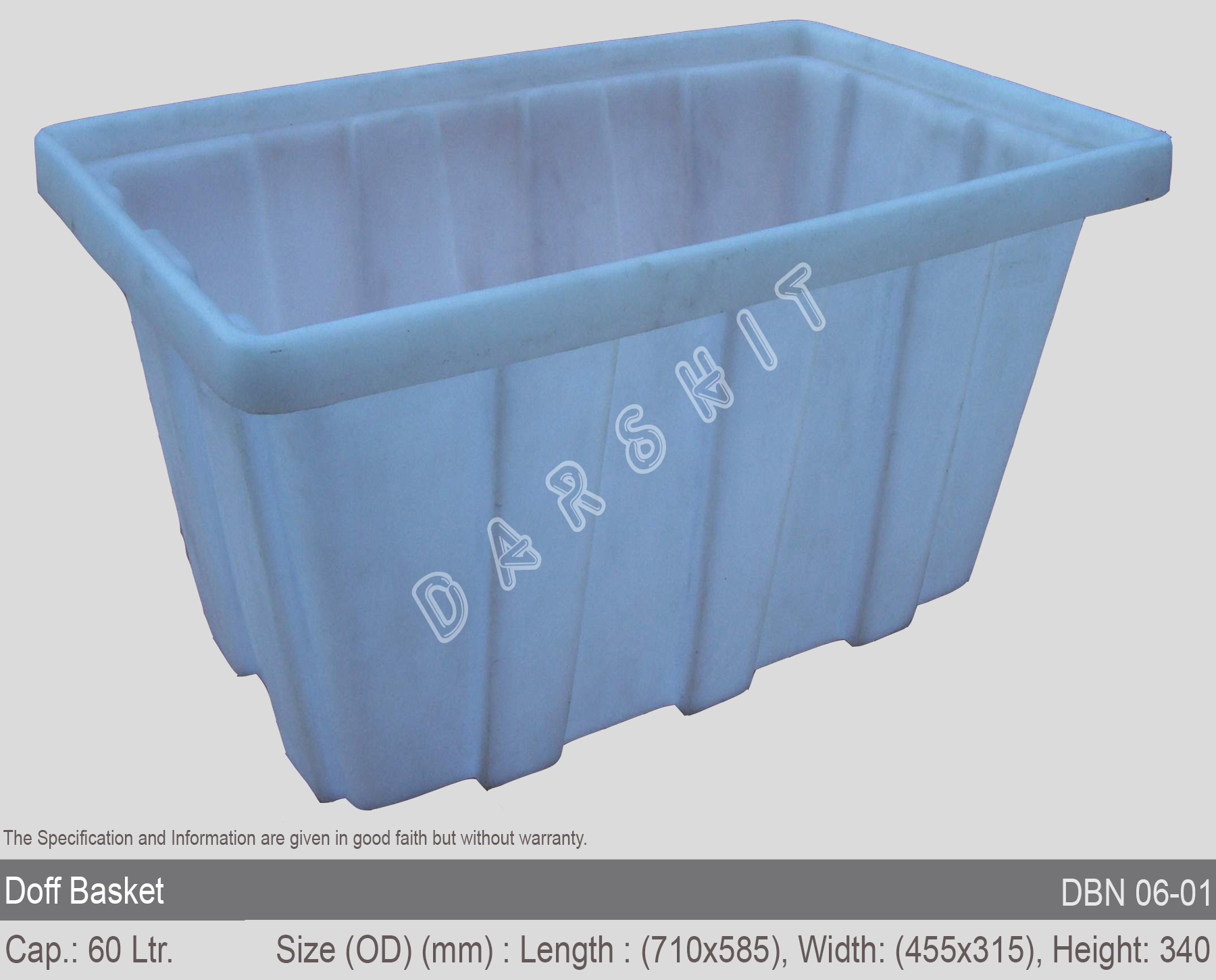 Sintex Doff Nestable Baskets