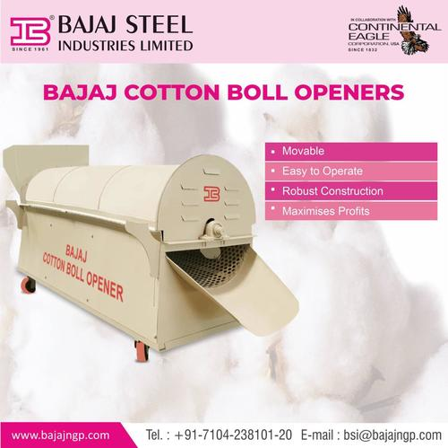 Cotton Boll Opener