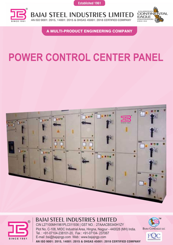 Industrial Electrical Control Panel