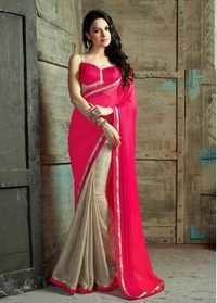Elegant Pink saree Casual Daily wear saree women wear saree 505
