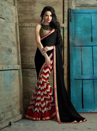 Wonderful multicolor office wear daily/Casual wear saree 506