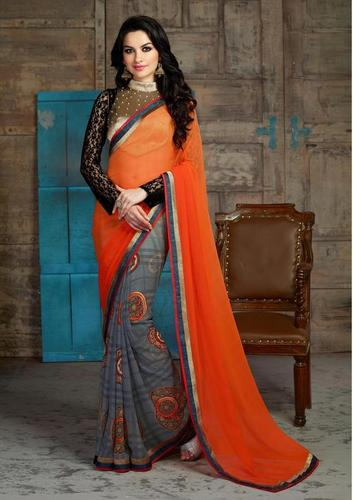 Fancy multicolor Women wear daily/Casual wear saree 507