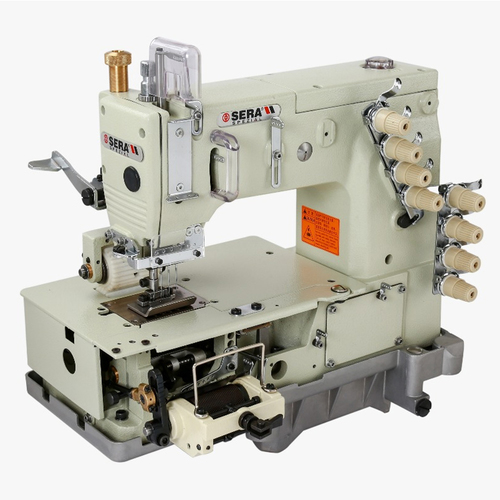 4 Needle Elastic Attaching Sewing Machine