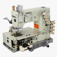 4 Needle Elastic Attaching Sewing Machine