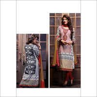 Elegant Multicolor Cotton Ladies Salwar Kameez 102