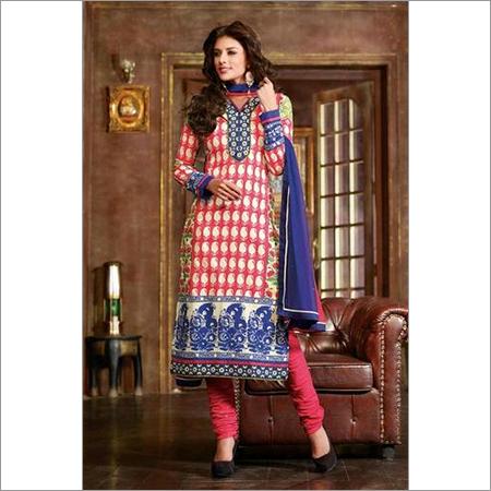 Indian Salwar kameez Pink Cotton salwar kameez 104B