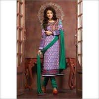 Ethnic purple Salwar kameez Unstitched salwar kameez 8310
