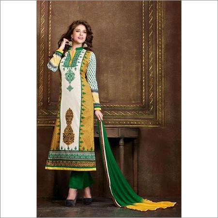 Gorgeous Multicolor salwar kameez summer salwar kameez 107A