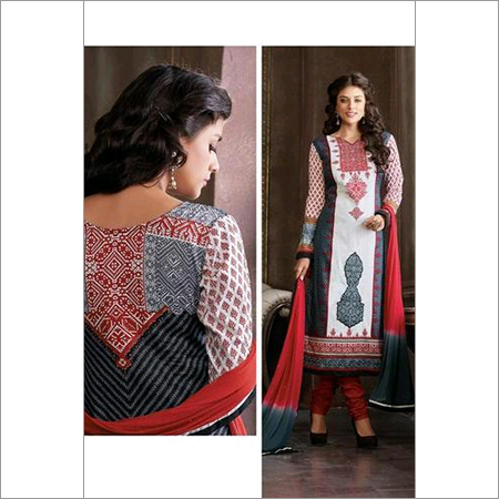Elegant Multicolor Cotton salwar kameez ladies latest summer salwar kameez 107B
