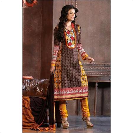 Indian Latest Cotton Salwar kameez multicolor salwar kameez 108B