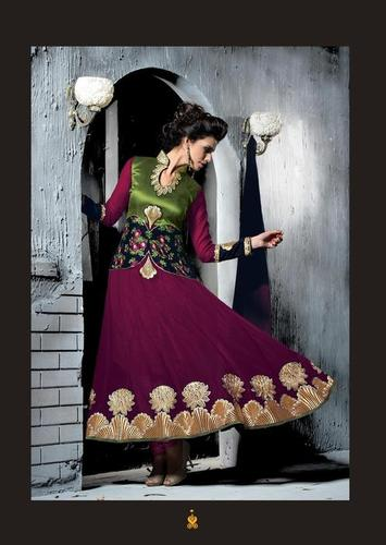Bollywood Fancy Purple Anarkali Salwar Kameez Party wear Designer salwar Kameez 13004