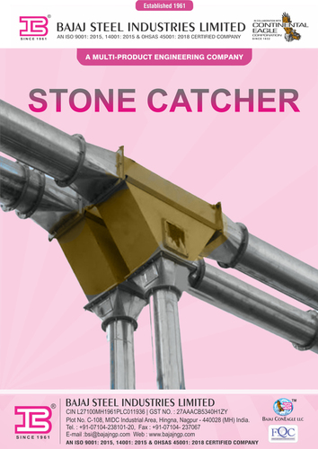 Seed Cotton suction line with stone catcher